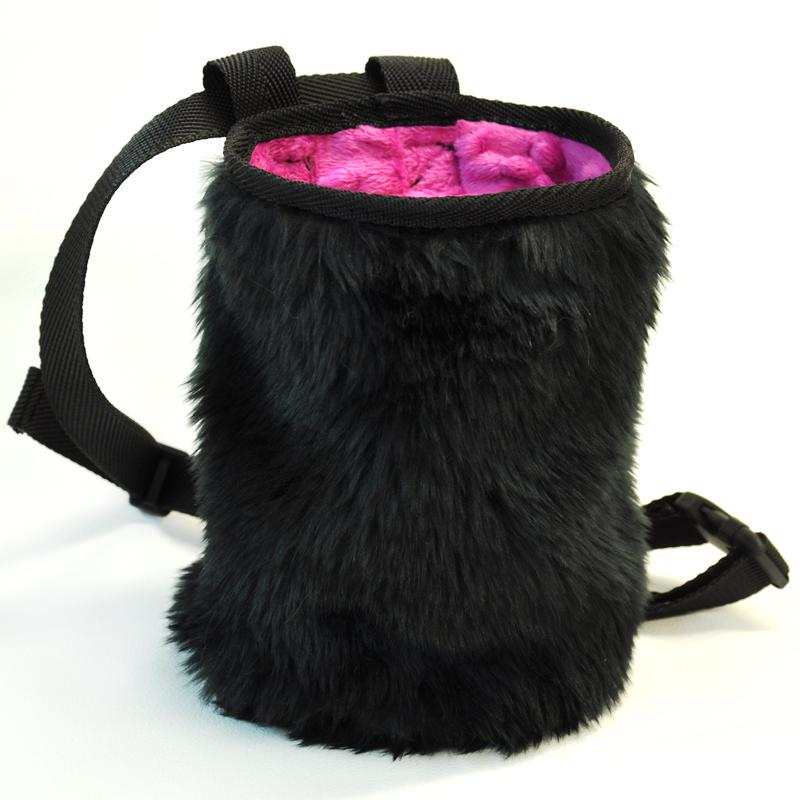 Woreczek na magnezję Pink Fur
