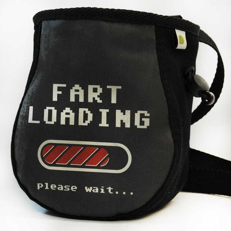 """Woreczek na magnezję """"Fart loading..."""""""