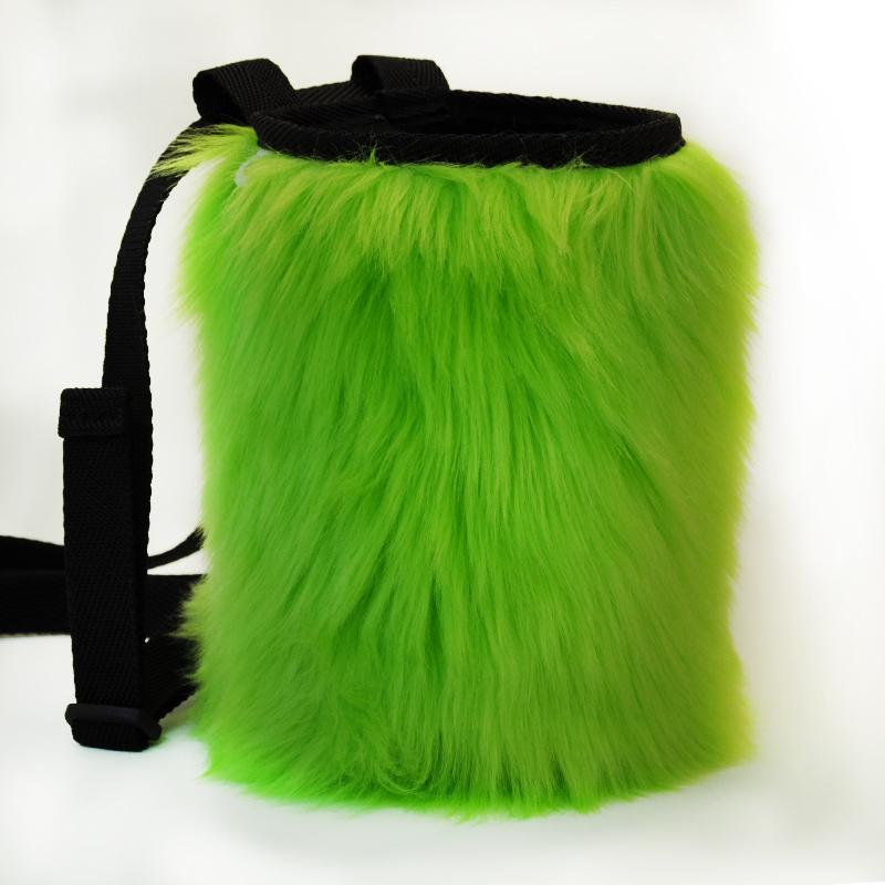 Worek na magnezję Futrzak Green