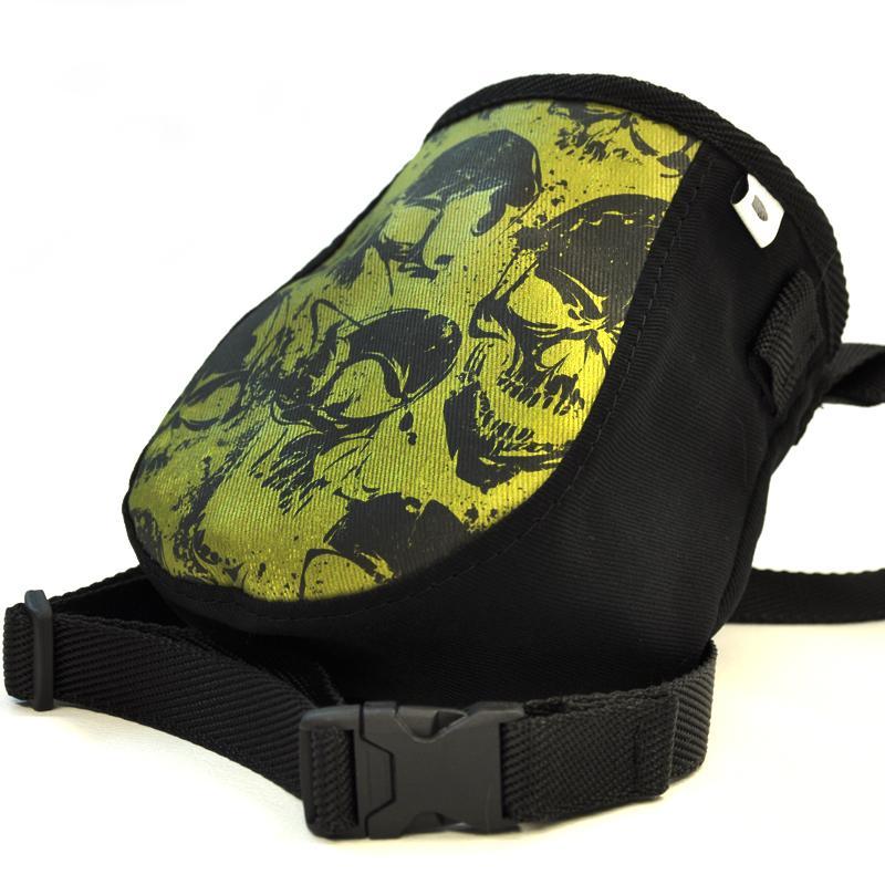 Worek na magnezję Skulls Green